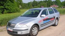 Autopůjčovna – náhradní vozidla